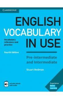 Stuart Redman: English Vocabulary in Use Pre-intermediate and Intermediate with answers and Enhanced ebook cena od 230 Kč