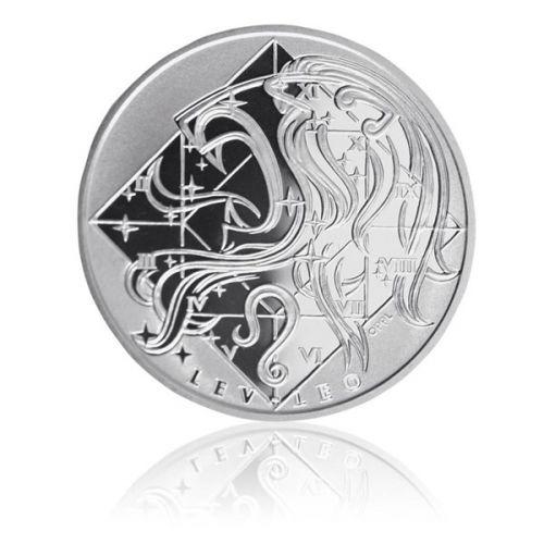 Česká mincovna Lev - Stříbrná medaile znamení zvěrokruhu proof