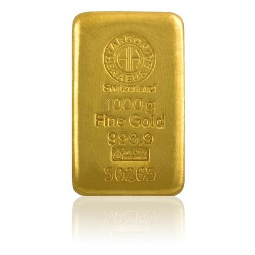 Česká mincovna Argor Heraeus Investiční zlatá cihla 1000 g