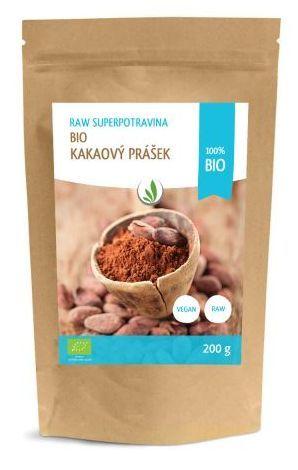 Allnature Kakaový prášek BIO 200 ml