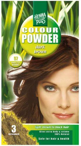 Henna Plus Colour Powder Dark Brown 57 100 ml