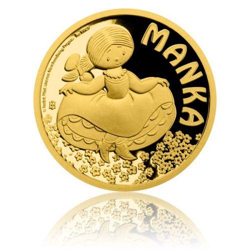 Česká mincovna Zlatá mince Manka proof