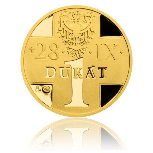 Česká mincovna  Jednodukát svatého Václava proof