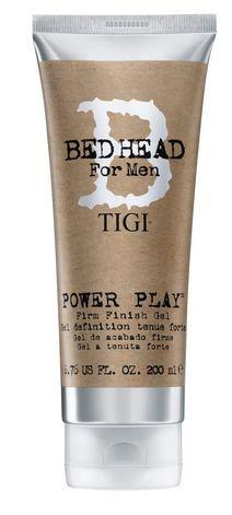 TIGI B For Men Power Play Firm Finish Gel 200 ml