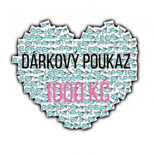 Adry Dárkový poukaz 1000 Kč