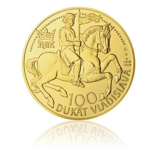 Česká mincovna Zlatý 100dukát Vladislava II. stand