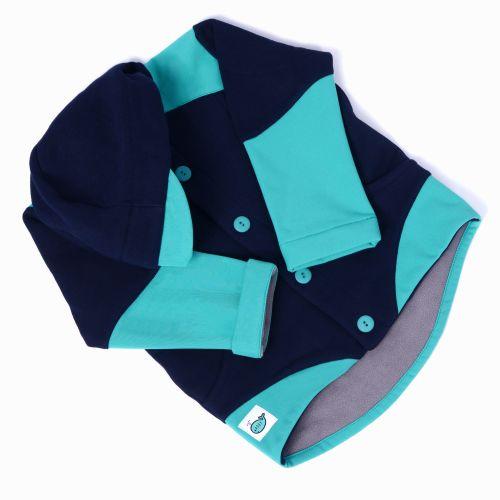 Adry Dětská polo softshellová bunda