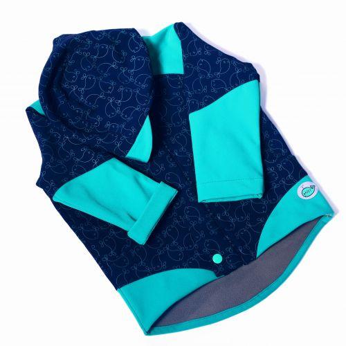 Adry Dětská softshellová bunda s potiskem