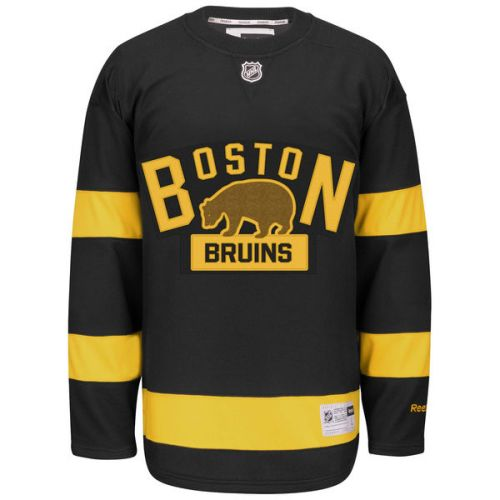 Reebok David Krejčí #46 Boston Bruins Premier Jersey 2016 NHL Winter Classic dres