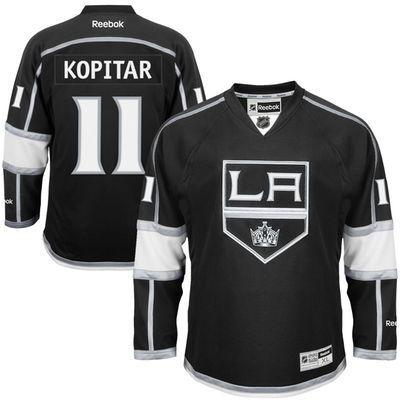 12262f126de47 Reebok Anze Kopitar #11 Los Angeles Kings Premier Jersey Home dres