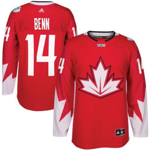 Adidas #14 Jamie Benn Team Canada Světový pohár 2016 dres