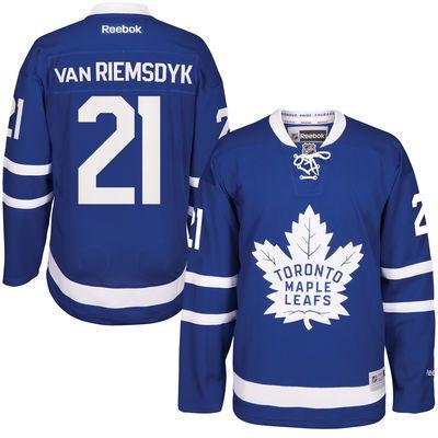 Reebok James Van Riemsdyk #21 Toronto Maple Leafs Premier Jersey Home dres