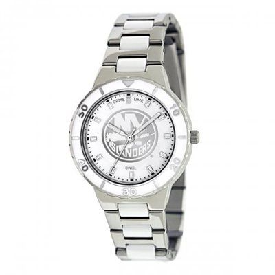 Gametime New York Islanders Pearl Stainless Steel