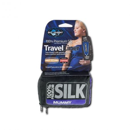 Sea To Summit Silk stretch Traveller with pillow insert