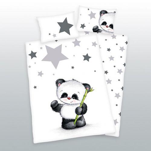 Herding Panda hvězdičky bavlněné povlečení