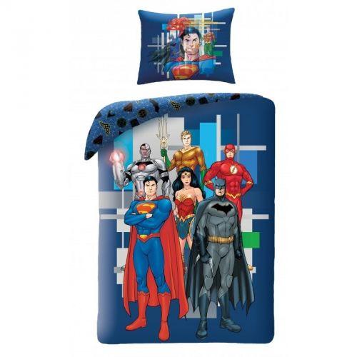 Halantex DC Comics-Liga Spravedlnosti bavlněné povlečení