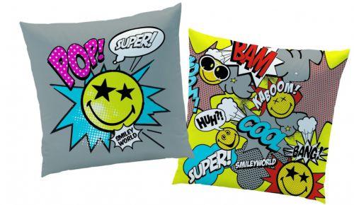 CTI Smiley smajlci Comics polštářek