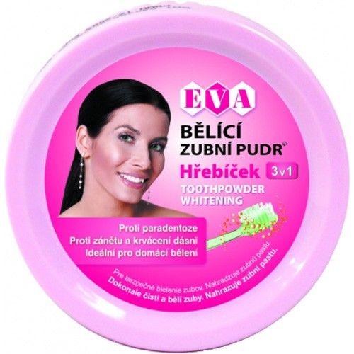 EVA Cosmetics Bělící zubní pudr hřebíček 30 g