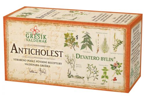 Grešík Devatero bylin Anticholest 20x1,5 g cena od 35 Kč