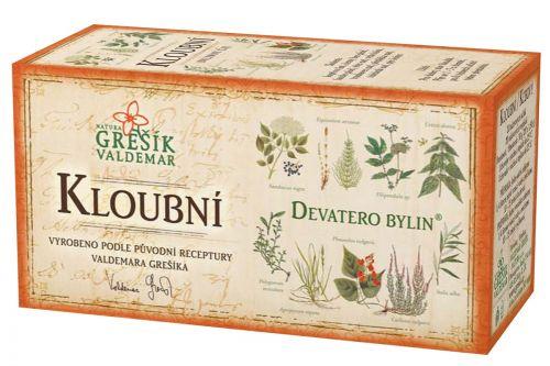 Grešík Devatero bylin Kloubní čaj 20x1.5 g