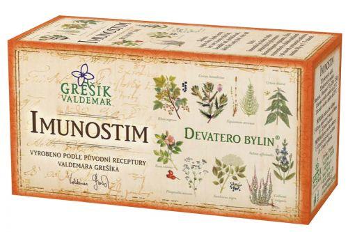 Grešík Devatero bylin Imunostim 20x1,5 g cena od 33 Kč