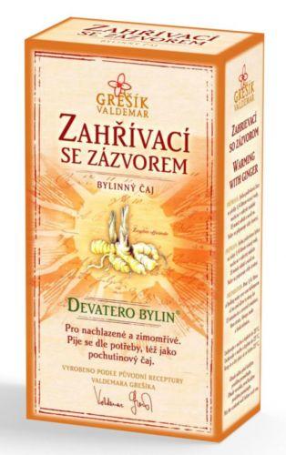 Grešík Devatero bylin Zahřívací se zázvorem 50 g cena od 49 Kč