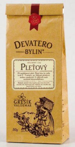 Grešík Devatero bylin Pleťový čaj 50 g cena od 49 Kč