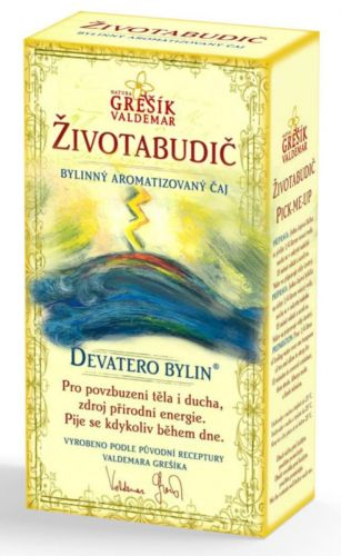 Grešík Devatero bylin Životabudič čaj 50 g cena od 65 Kč