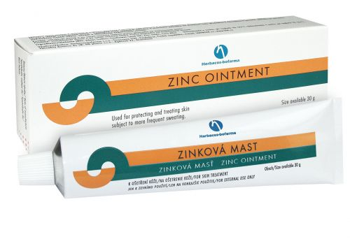 Herbacos Recordati HBF Zinková mast 30 g