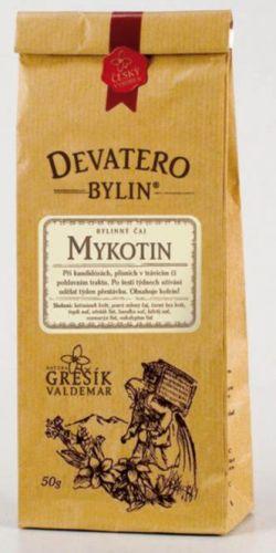 Grešík Devatero bylin Mykotin čaj 50 g cena od 42 Kč