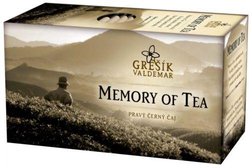 Grešík Memory of Tea 20 x 1,8 g cena od 29 Kč