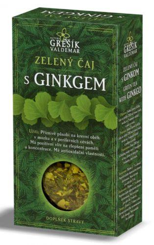 Grešík Zelený čaj s ginkgo 70 g cena od 47 Kč