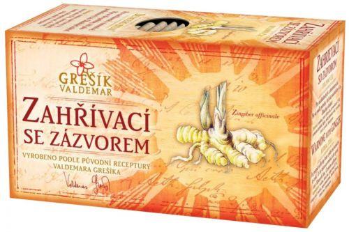 Grešík Devatero bylin Zahřívací se zázvorem 20x1,5 g cena od 40 Kč