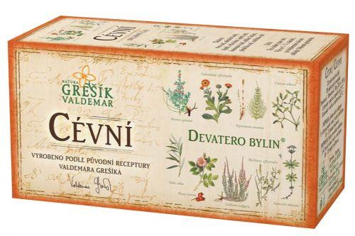 Grešík Cévní čaj Devatero bylin 20 sáčků cena od 35 Kč
