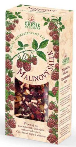 Grešík Malinový šálek 100 g cena od 65 Kč