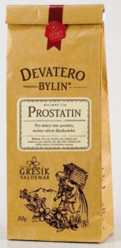 Grešík Devatero bylin Prostatin čaj 50 g cena od 42 Kč