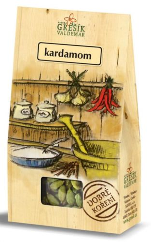 Grešík Kardamom celý 10 g cena od 49 Kč