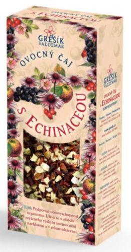 Grešík Ovocný čaj s echinaceou sypaný 100 g cena od 64 Kč