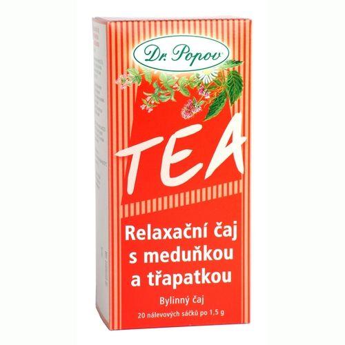 Dr. Popov Relaxační čaj s meduňkou a třapatkou 30 g cena od 0 Kč