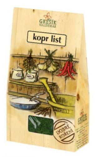 Grešík Kopr list 20 g cena od 20 Kč