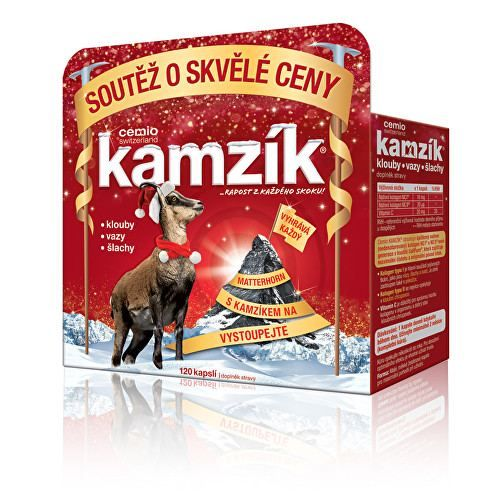 Cemio Kamzík kolagen na klouby 120 kapslí