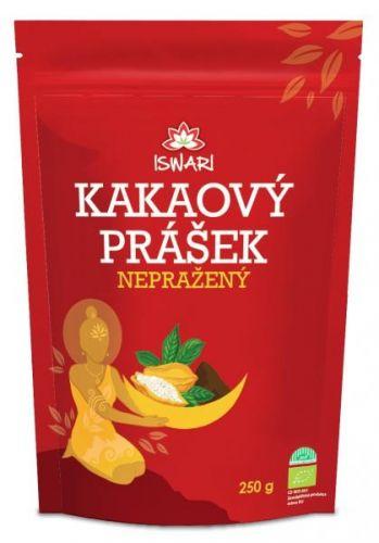 Iswari Bio Nepražené kakao prášek 250 g