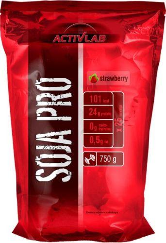 ActivLab Soja Pro sojový proteinový izolát jahoda 750 g