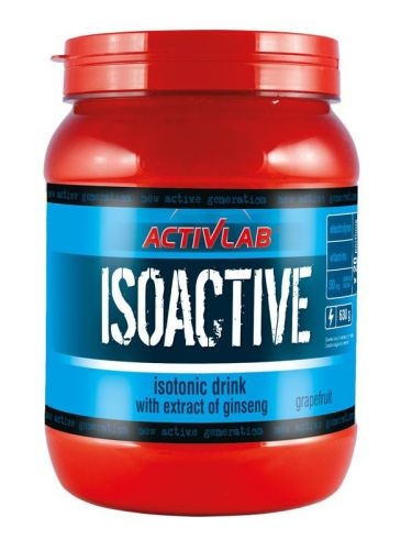 ActivLab Isoactive iontový nápoj s ženšenem grapefruit 630 g