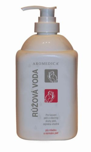 Aromedica Růžová voda - pleťová voda pro suchou a alergickou pleť 500 ml