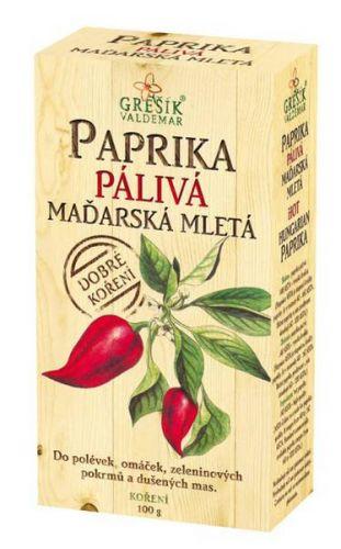 Grešík Paprika pálivá maďarská mletá 100 g cena od 48 Kč