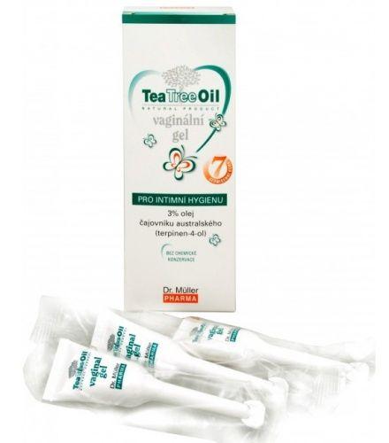 Dr. Müller Dr. Muller Tea Tree Oil vaginální gel 7x7,5 g