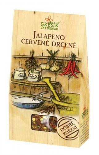 Grešík Jalapeno červené drcené 20 g cena od 37 Kč