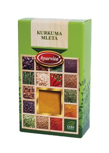 DNM Kurkuma mletá 50 g cena od 30 Kč