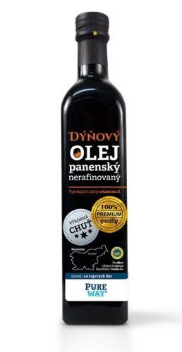 Pure Way Dýňový olej Štýrský z pražených semínek 250 ml